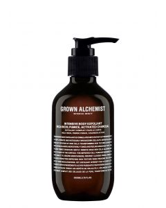 Intensive Body Exfoliant: Inca-Inchi-Pumice, Activated-Charcoal grown alchemist