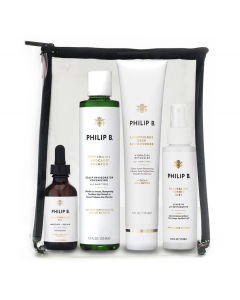 Philip B - Four Step Hair & Scalp Facial Treatment Kit